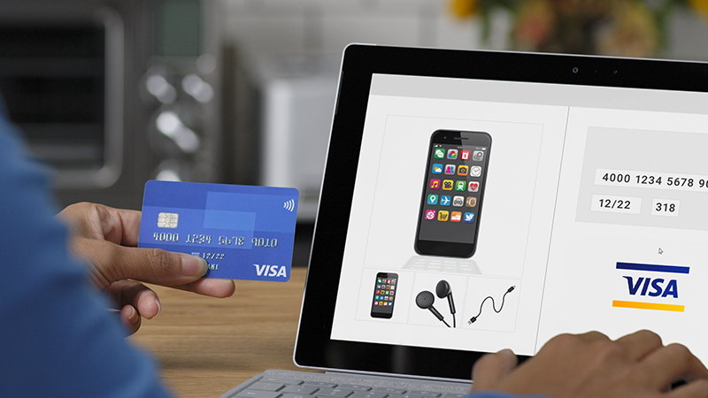 Paying for iPhone online